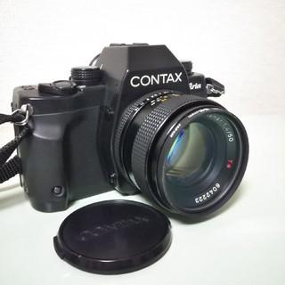 キョウセラ(京セラ)のCONTAX Aria Carl Zeiss Planar 1.4/50(フィルムカメラ)