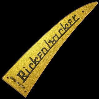 新リッケンバッカー ゴールド ネームプレート ワイドサイズ(エレキベース)