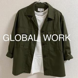 グローバルワーク(GLOBAL WORK)の定番◎ミリタリージャケット(ミリタリージャケット)