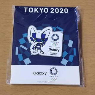 ギャラクシー(Galaxy)の【非売品】東京2020オリンピック ピンバッジ(バッジ/ピンバッジ)