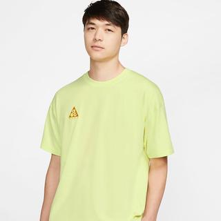 ナイキ(NIKE)の☆新品☆ ナイキ ACG  Tシャツ イエロー S(Tシャツ/カットソー(半袖/袖なし))