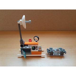 レゴ(Lego)のレゴ シティ●北極 氷山●アンテナ ルーペ コンテナ  担架 レーダー●パーツ(その他)