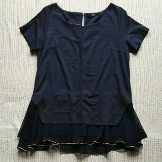 ビッキー(VICKY)のVICKY ネイビー×黒 半袖トップス(カットソー(半袖/袖なし))