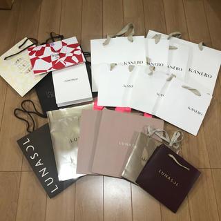 ルナソル(LUNASOL)のコスメブランド ショップ袋まとめ売り(ショップ袋)