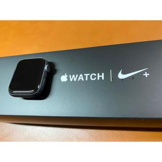 アップルウォッチ(Apple Watch)のApple Watch series4 44mm Nike +  GPS アルミ(腕時計(デジタル))