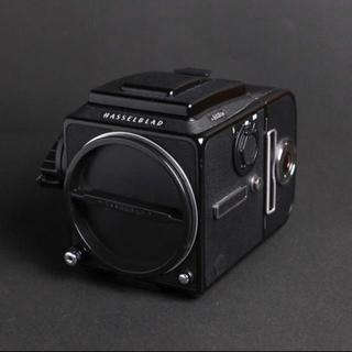 キヤノン(Canon)の【専用】Hasselblad 503cw+A12マガジン+CF80mm(フィルムカメラ)
