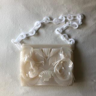マメ(mame)のVinyl Chloride Long Chain Bag white(ショルダーバッグ)