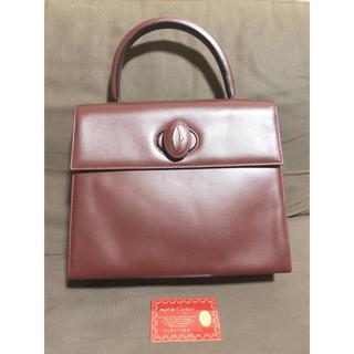 カルティエ(Cartier)のカルティエ マストラインハンドバッグ 美品(ハンドバッグ)