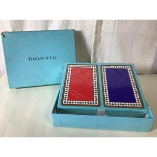 ティファニー(Tiffany & Co.)の【未開封】TIFFANY & co. トランプ(トランプ/UNO)