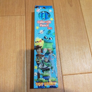 ディズニー(Disney)のトイストーリー 鉛筆B2・11本  赤1本(鉛筆)