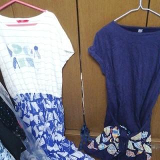 グラニフ(Design Tshirts Store graniph)のグラニフ ワンピース2点セット(ひざ丈ワンピース)