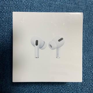 アップル(Apple)の【新品未開封】 AirPods pro エアーポッズプロ 本体 値下げ(ヘッドフォン/イヤフォン)