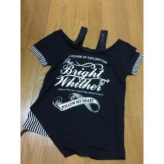アビラピンク(AVIRA PINK)の黒Tシャツ アビラピンク(Tシャツ(半袖/袖なし))