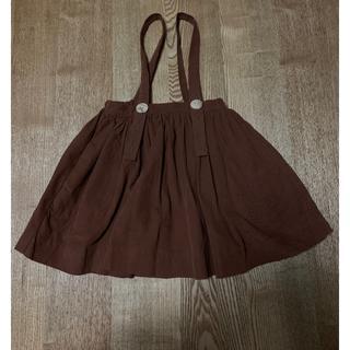 キャラメルベビー&チャイルド(Caramel baby&child )のsoor ploom *吊りスカート(スカート)