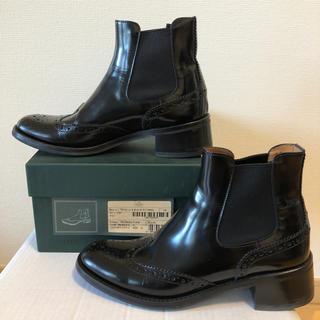 チャーチ(Church's)のchurch's チャーチ黒サイドゴアブーツ35(ブーツ)