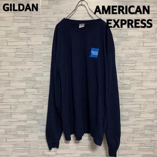 ギルタン(GILDAN)のGILDAN AMERICAN EXPRESS ロンT ロゴ XL (Tシャツ/カットソー(七分/長袖))