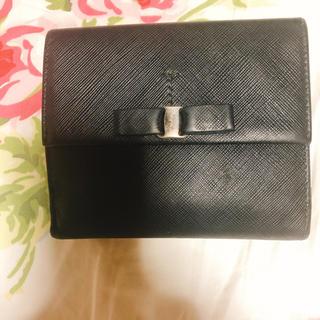 フェラガモ(Ferragamo)のフェラガモ 財布 二つ折 黒色(財布)