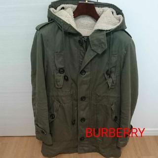 BURBERRY BLACK LABEL - BURBERRY BLACK LABEL バーバリー モッズコート コート