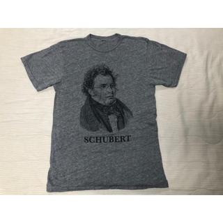 ビームス(BEAMS)のシューベルト 染み込みプリントTシャツビームス 音楽家 ベートーベン スウェット(Tシャツ/カットソー(半袖/袖なし))