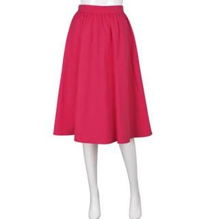 ジーユー(GU)の スカート GU ピンク ジーユー ユニクロ UNIQLO ピンク(ひざ丈スカート)