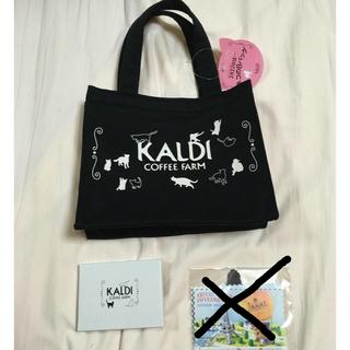 カルディ(KALDI)の〈匿名配送〉新品♪ カルディ ネコの日バッグ 2020(トートバッグ)