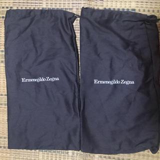 エルメネジルドゼニア(Ermenegildo Zegna)のエルメネジルド・ゼニアErmenegildo Zegnaの靴袋(スニーカー)