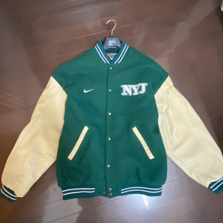 ナイキ(NIKE)の値下げ NIKE NFL NY JETS スタジャン 90s (スタジャン)