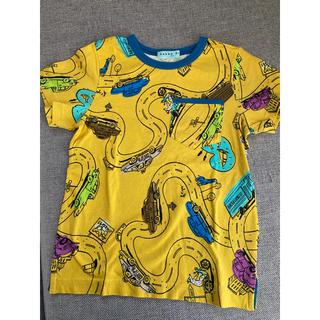 ハッカキッズ(hakka kids)のhakka kids /Tシャツ/サイズ120/新品未使用(Tシャツ/カットソー)