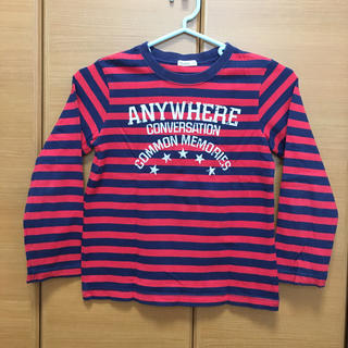 アコバ(Acoba)のAcoba ボーダーロンT  120(Tシャツ/カットソー)