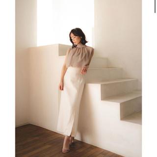 ノーブル(Noble)のNOBLE×CACHEC スリットマキシスカート(ロングスカート)