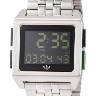 アディダス(adidas)のアディダス 腕時計 アーカイブM1 シルバー(腕時計(デジタル))