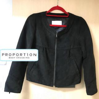 プロポーションボディドレッシング(PROPORTION BODY DRESSING)のプロポーションボディドレッシング ノーカラー ジャケット 定価19000円(ノーカラージャケット)