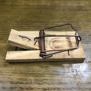インテリア ネズミ捕り 木製(インテリア雑貨)