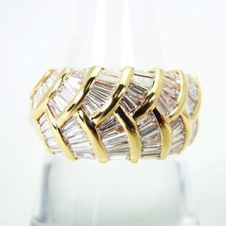 K18 ダイヤモンド リング 17号[g204-2](リング(指輪))