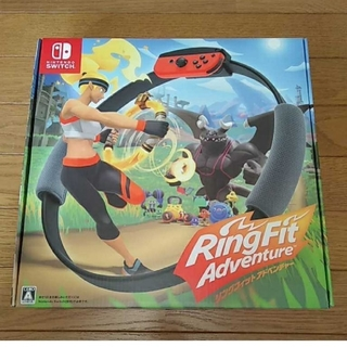 明日発送可 Nintendo Switch リングフィットアドベンチャー(家庭用ゲームソフト)