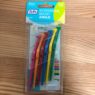 TePe アングル歯間ブラシ 1パック(6本セット) 10個セット(歯ブラシ/デンタルフロス)