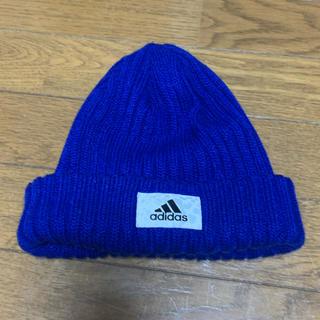 アディダス(adidas)のadidas メンズ ニット帽(ニット帽/ビーニー)