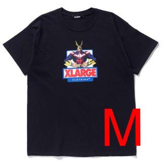 エクストララージ(XLARGE)の早い者勝ち!格安!エクストララージ ヒロアカ コラボ オールマイト ブラックM(Tシャツ/カットソー(半袖/袖なし))