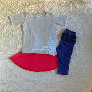 Old Navy - 女の子 80 ❤︎ 半袖 スカート パンツ ❤︎ MUJI プティマイン セラフ