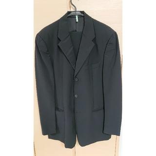 エンポリオアルマーニ(Emporio Armani)のEMPORIO ARMANI ブラック スーツ(セットアップ)