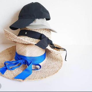 トゥモローランド(TOMORROWLAND)のマリモ様 専用一度使用 lola hats ローラハット 麦わら帽子(麦わら帽子/ストローハット)