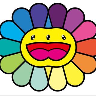 村上隆 Multicolor Double Face: Yellow(版画)
