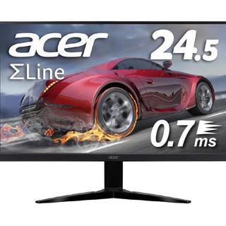 エイサー(Acer)のけい様専用 acer ゲーミングモニター 0.7ms 24.5インチ(ディスプレイ)