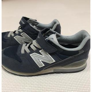 ニューバランス(New Balance)のニューバランス 紺色  子供(スニーカー)
