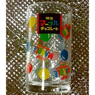 メイジ(明治)のマーブルチョコレート グラス 明治(グラス/カップ)