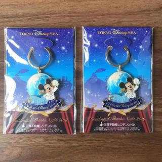 Disney - 2個 TDS ディズニーシー レジデンシャルサンクスナイト キーホルダー 非売品