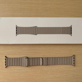 アップルウォッチ(Apple Watch)のApple Watch 純正レザーバンド 42/44mm対応(ラバーベルト)