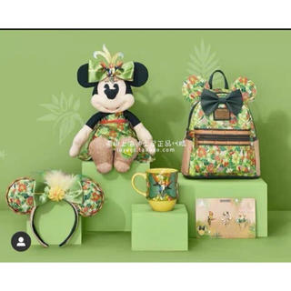 ディズニー(Disney)の上海ディズニー香港ぬいぐるみ ミニー ミッキー ドナルド ミニー チキ 5月(キャラクターグッズ)