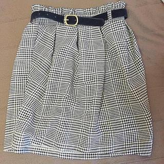 マジェスティックレゴン(MAJESTIC LEGON)のマジェ スカート(ひざ丈スカート)