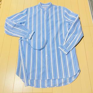 ジルサンダー(Jil Sander)の美品 19ss 定価104,760円 JIL SANDER ストライプシャツ(シャツ)